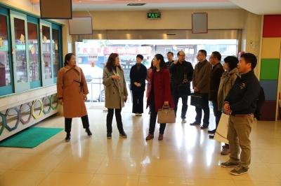 中国残联社会服务指导中心刘宇赤来锡调研残疾儿童康复机构规范化管理情况