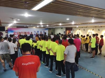 市残联举办残疾人飞镖、游泳、中国象棋比赛